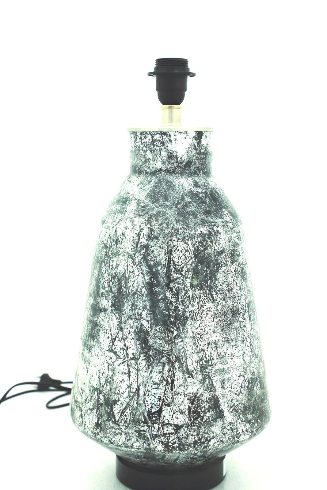 Grey Shower Lamp
