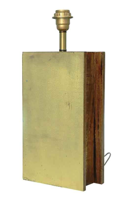 Handbook Form Table Lamp