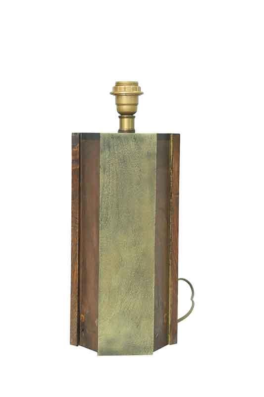 Vintage Hexagone Table Lamp